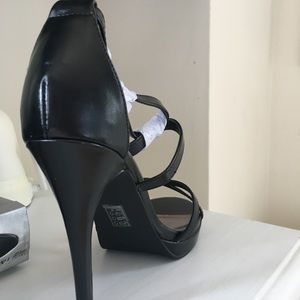 800c23b2f51 Brand New! Black strappy heels. Price is firm NWT